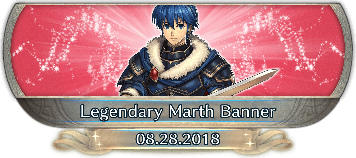 FEH Content Update: 08/27/18 - Legendary Hero - Marth: Hero-King