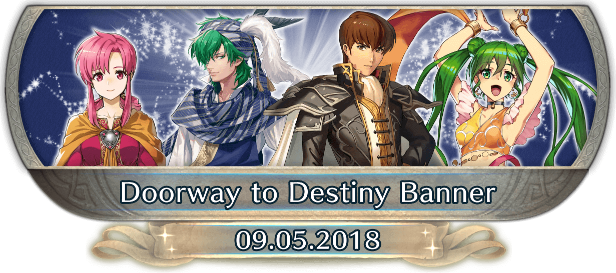 FEH Content Update: 09/05/18 - Doorway to Destiny