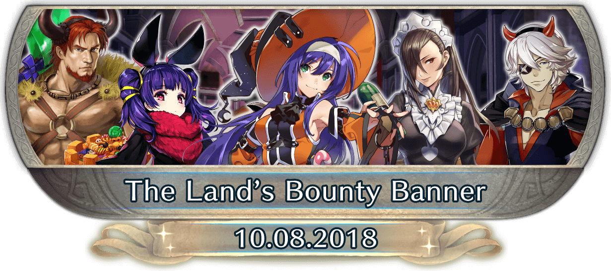 FEH Content Update: 10/08/18 - The Land's Bounty