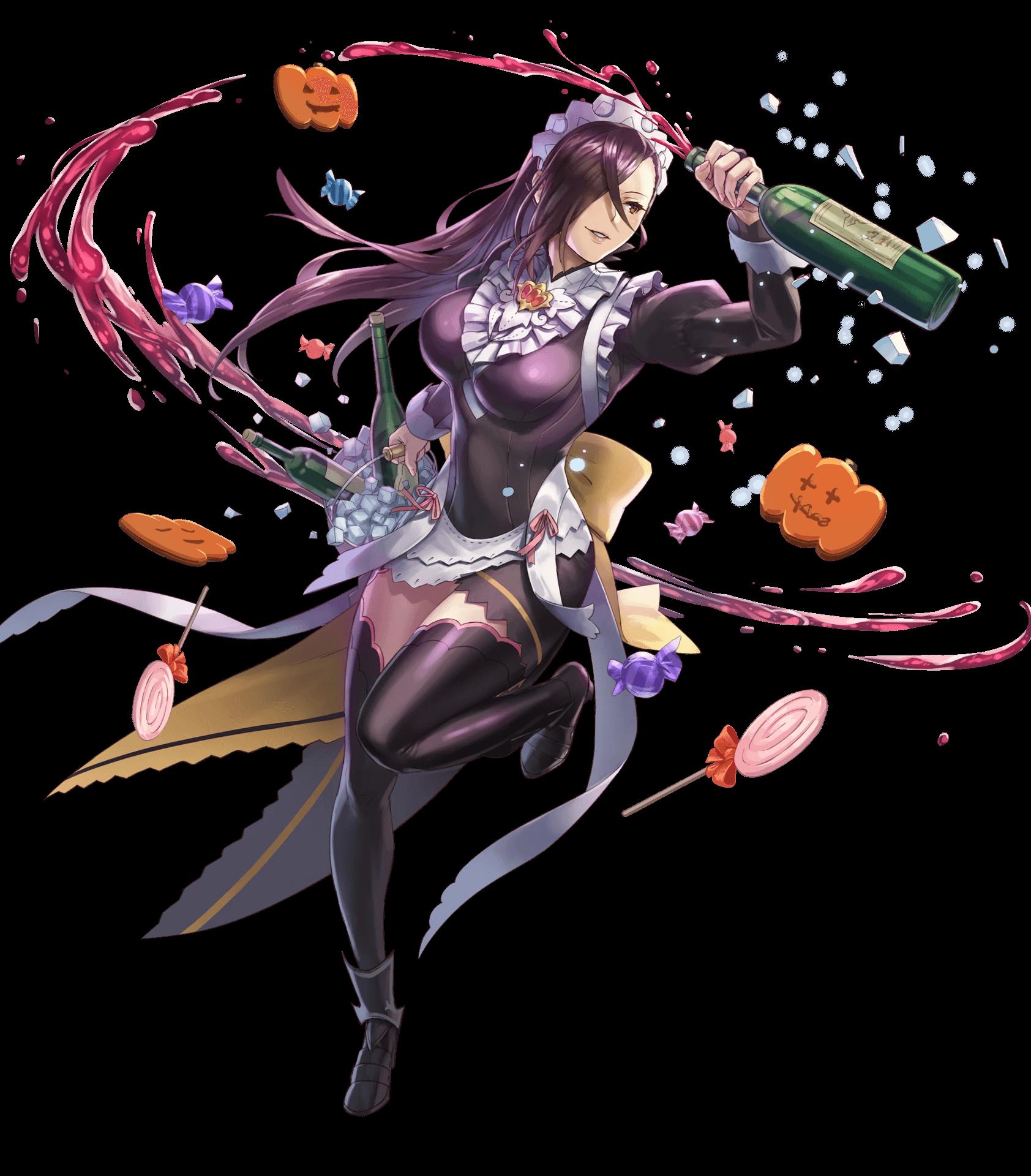 Halloween Kagero   Fire Emblem Heroes Wiki - GamePress