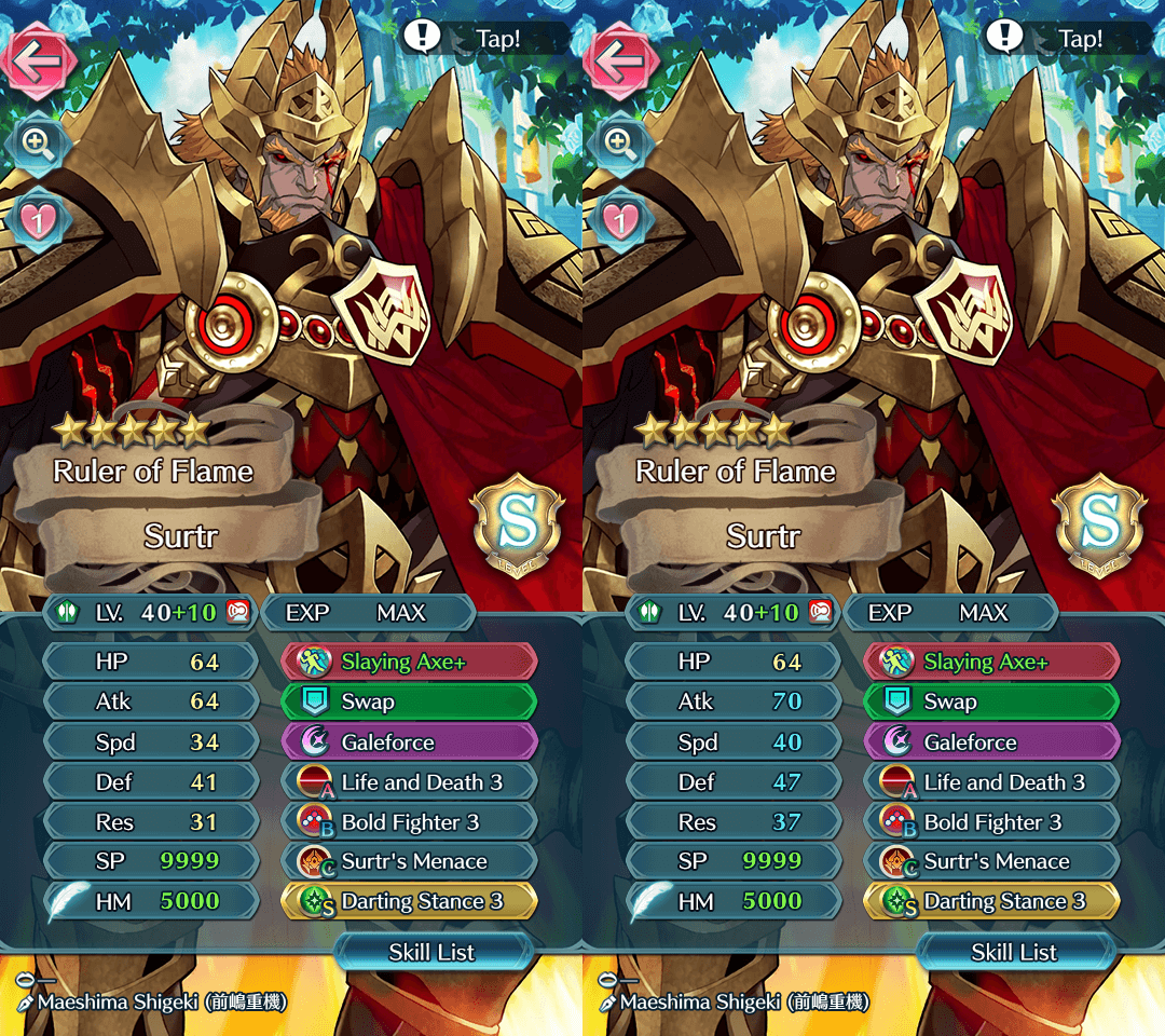Rate My Surtr Build | Fire Emblem Heroes Wiki - GamePress