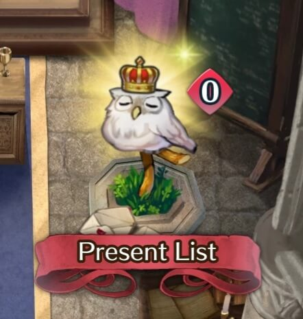 Feh wearing a crown