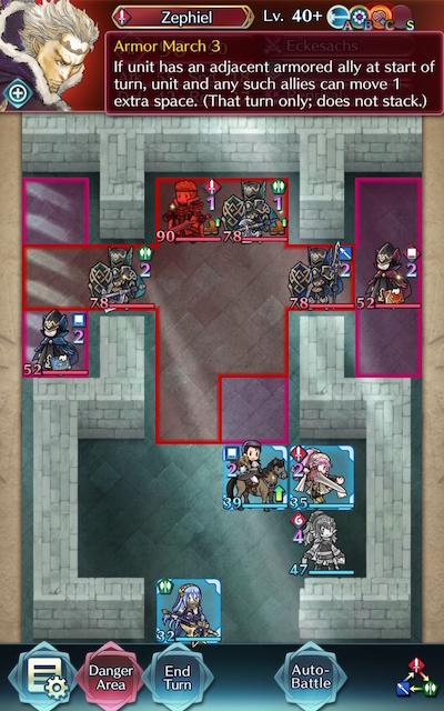 Armor March Screenshot