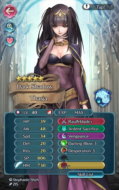 Tharja Screenshot