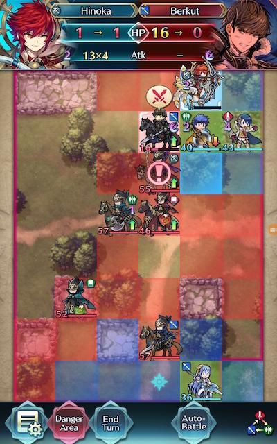 Hinoka Warps due to Escape Route Screenshot