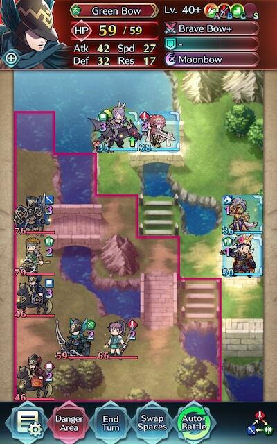 brave bow green archer screenshot