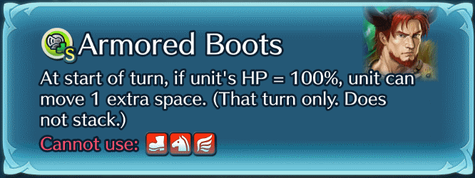 Armored Boots Sacred Seal