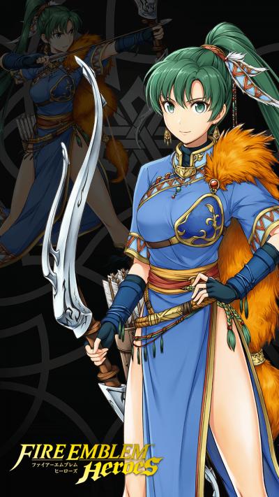 Fe Heroes Iv Calculator >> Brave Lyn   Fire Emblem Heroes GamePress