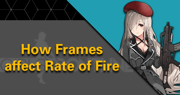 How Frames affect Rate of Fire