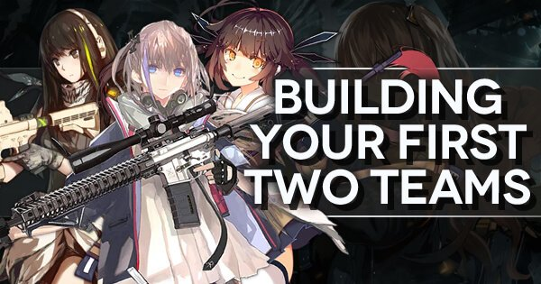 "Banner for ""New Career Quests and Progression: Building Your First Two Teams"", featuring M4A1, ST AR-15, and M14"