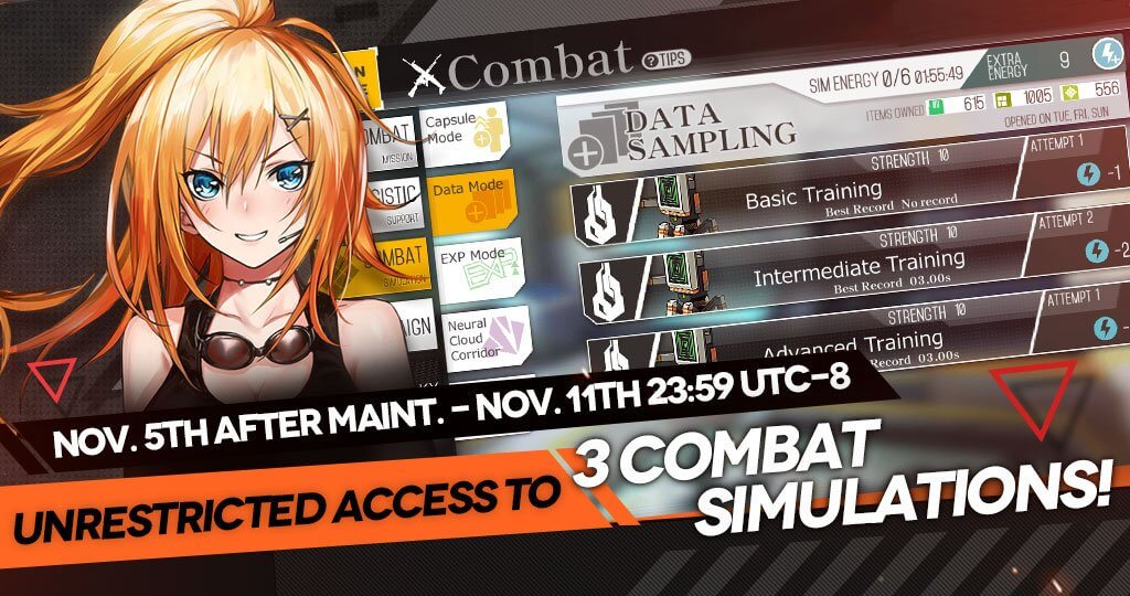 Unrestricted Access to 3 Combat Simulations Official Banner
