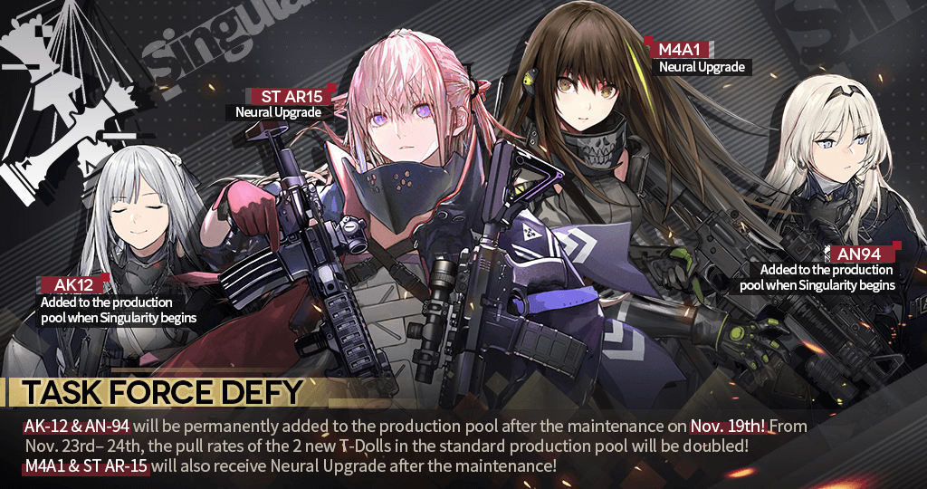 Datamined Task Force DEFY teaser