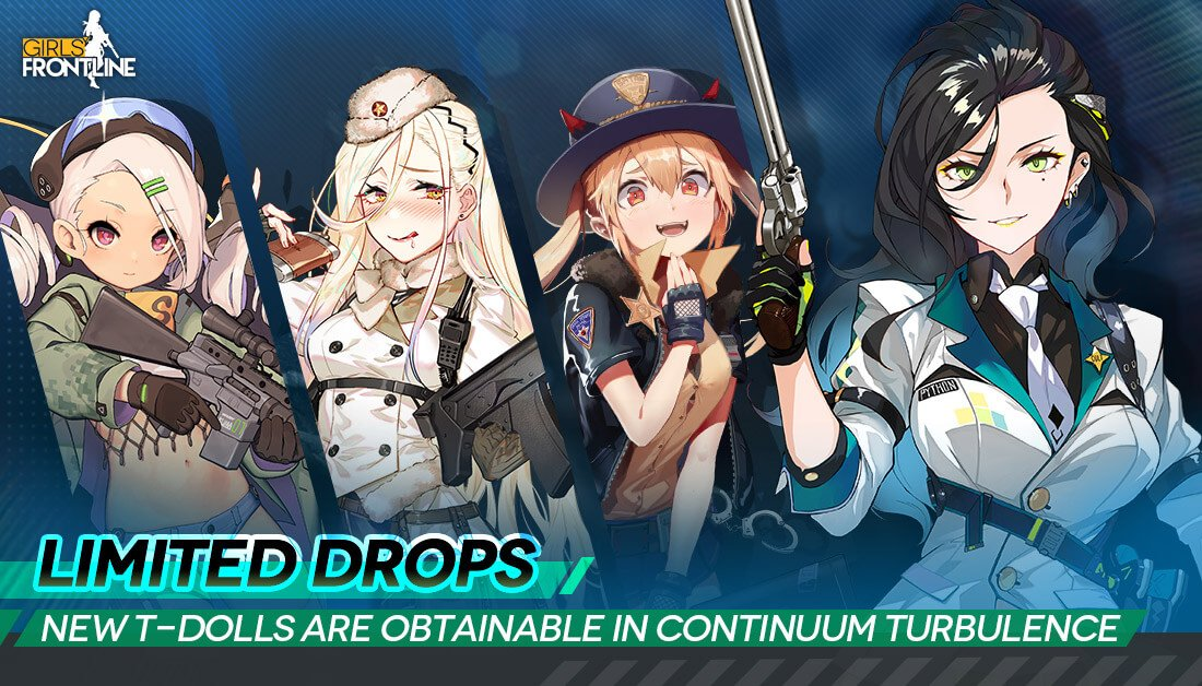 Official banner showing the new CT Limited Drop T-Dolls