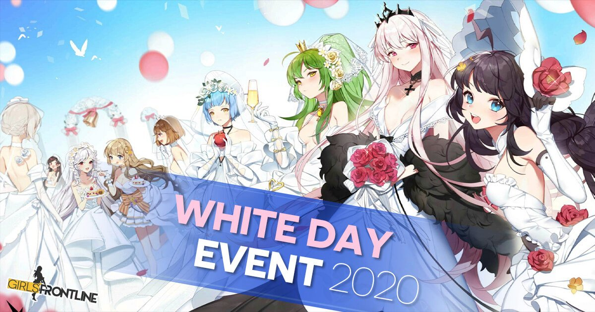"Main banner for the GFL ""The Photo Studio Mystery"" White Day Event"