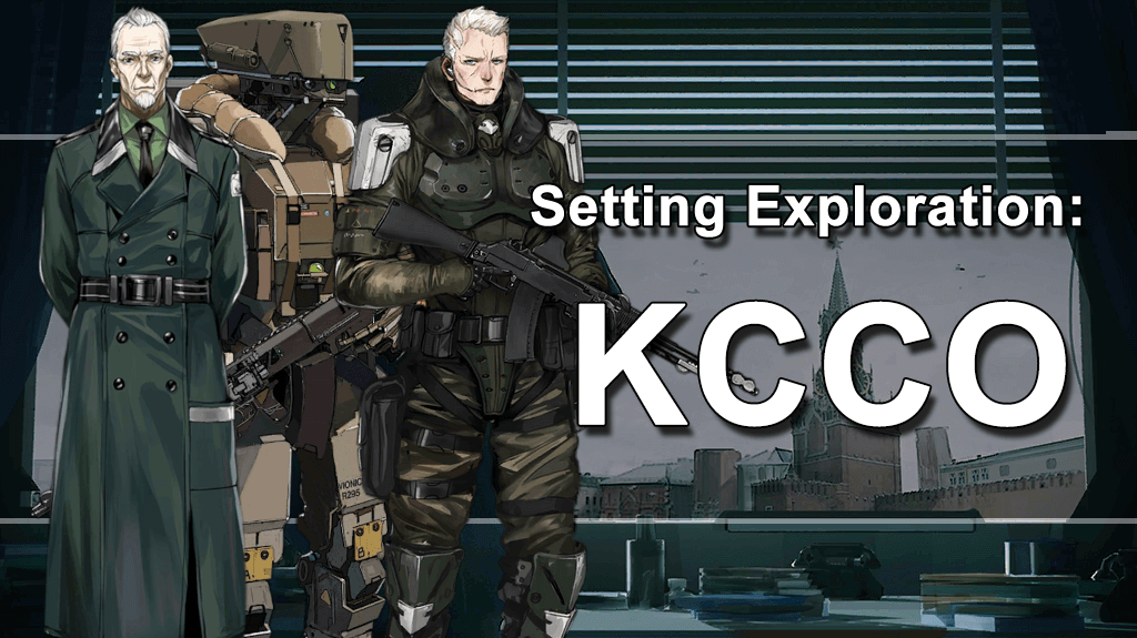 Setting Exploration KCCO featuring Carter, Yegor, and a Cyclops Doll