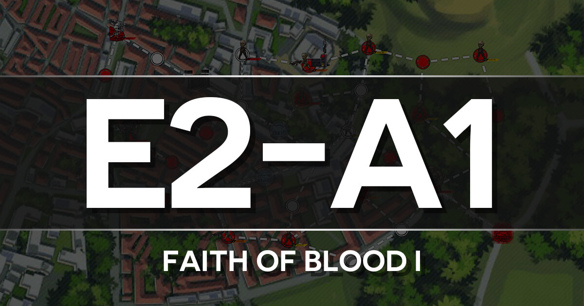 A guide to Isomer Chapter E2-A1: Faith