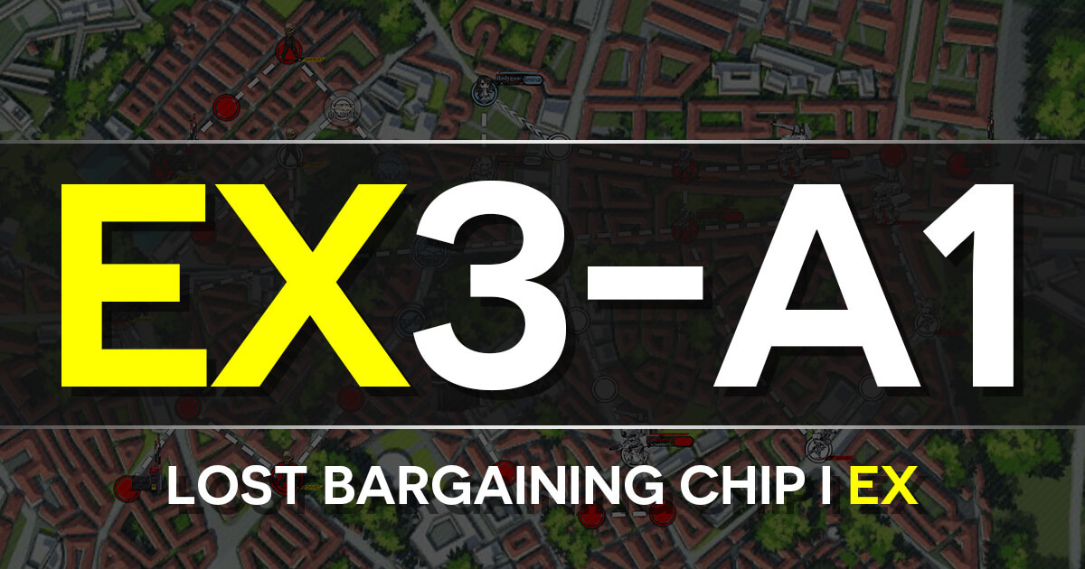 A guide to Isomer Chapter E3-A1: Lost Bargaining Chip I EX