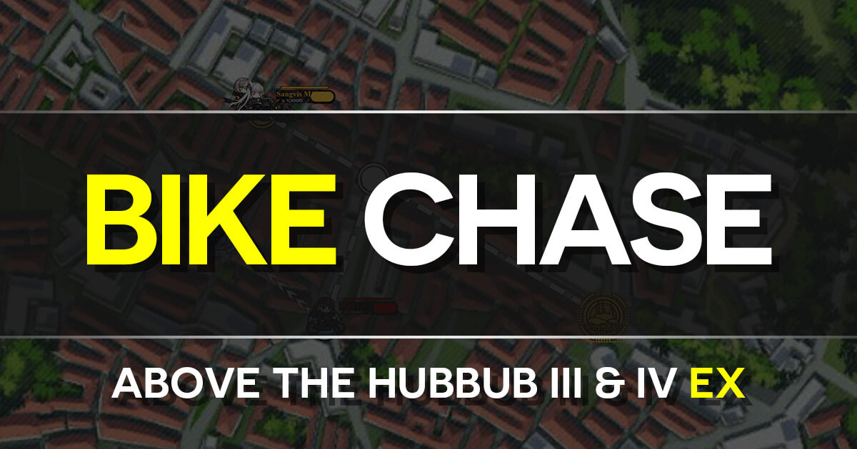 A Guide for Isomer Chapter 4-A3/4: Above the Hubbub III/IV Normal/EX Bike Chase Minigame