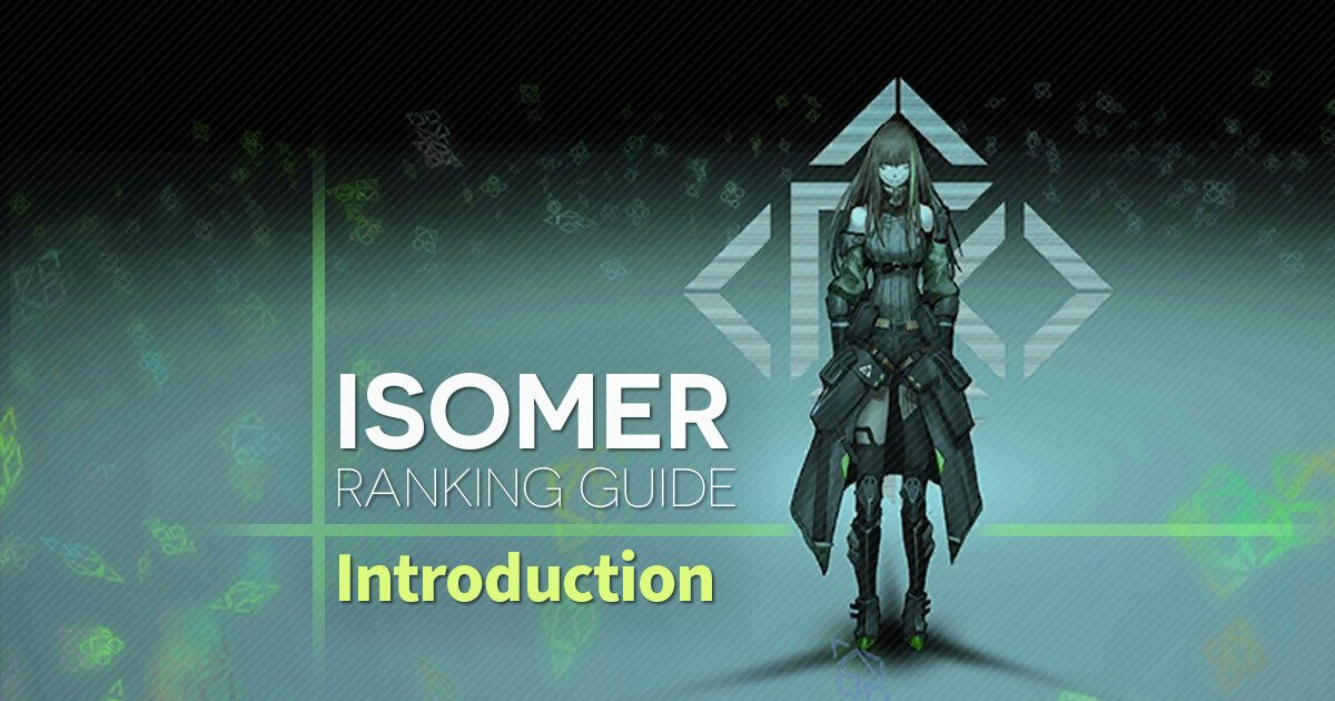 An introduction to Isomer Ranking with links to in-depth guides for the prospective ranker