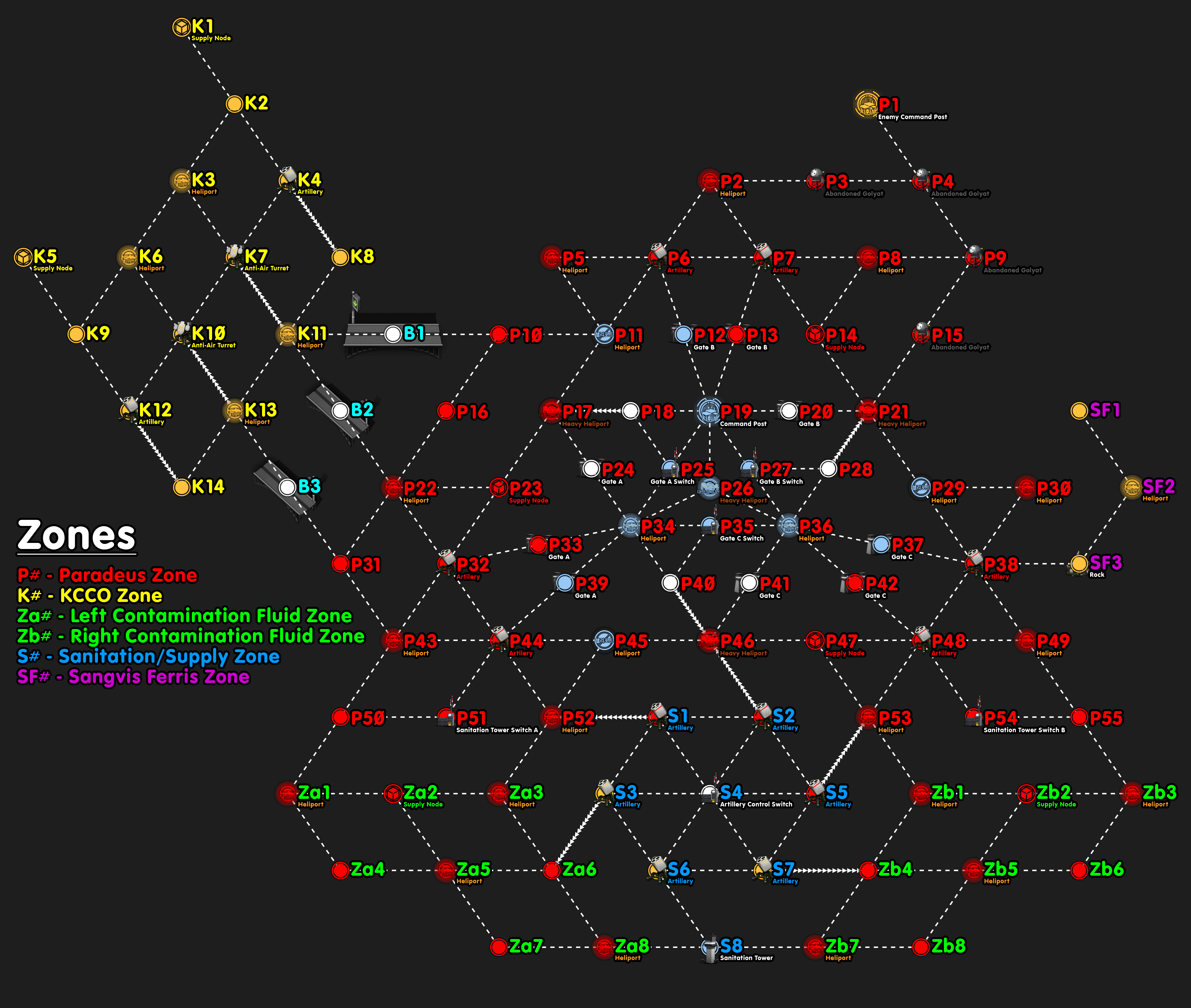 Isomer Ranking Map by Midgie#4390