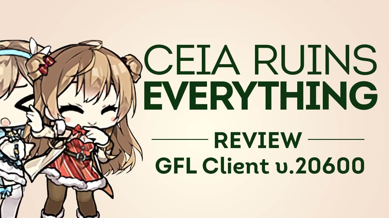 Thumbnail for Ceia's Girls' Frontline's new client feature video