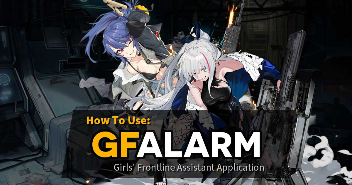 GFAlarm Guide banner featuring K11 and MDR, because who else would be responsible for this sort of disruptive forbidden knowledge?