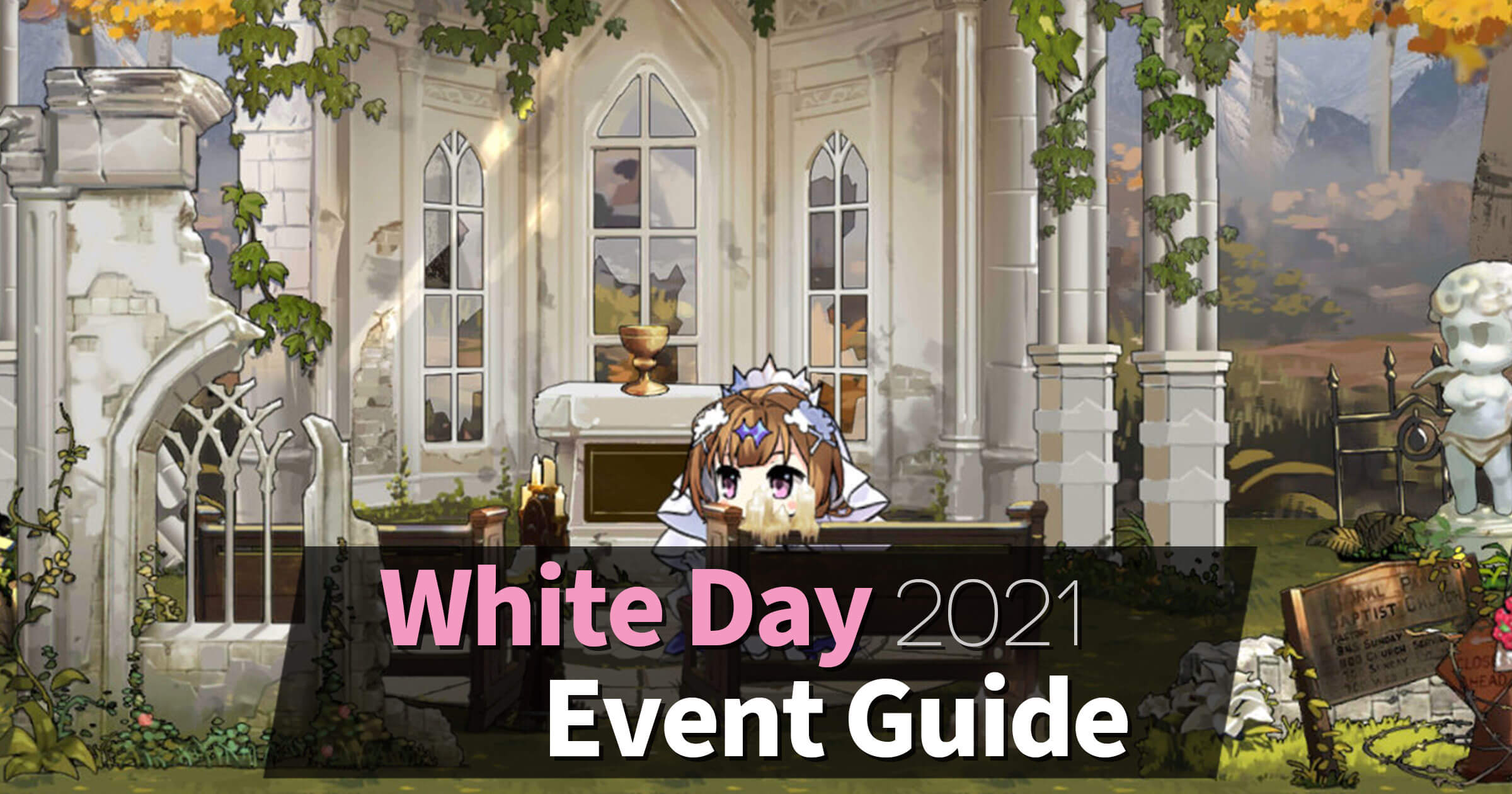 "Event information and guides for the Girls' Frontline 2021 White Day Event, ""The Photo Studio Mystery""."