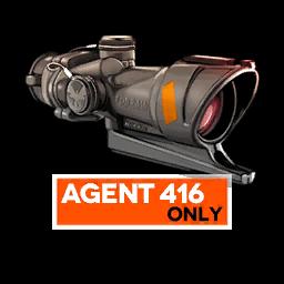 Agent 416's Special Equipment, 4x ACOG