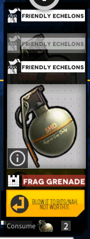 Scroll down to find insta-gib grenade option