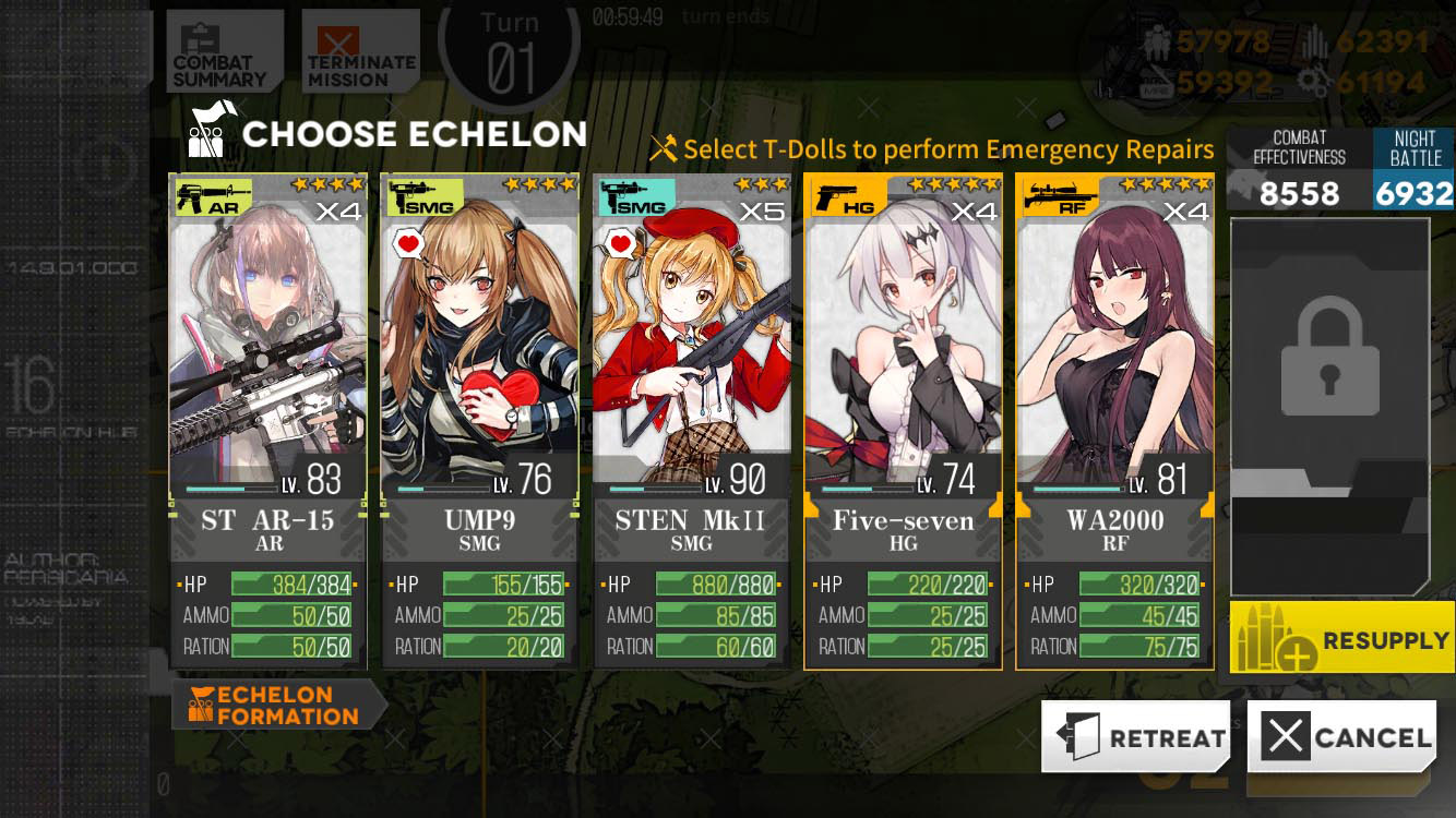 An example leveling team.