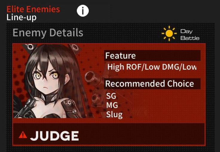 Judge info