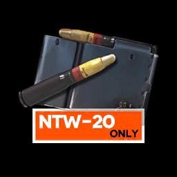 NTW-20's MOD III speq, the 20mm HEI
