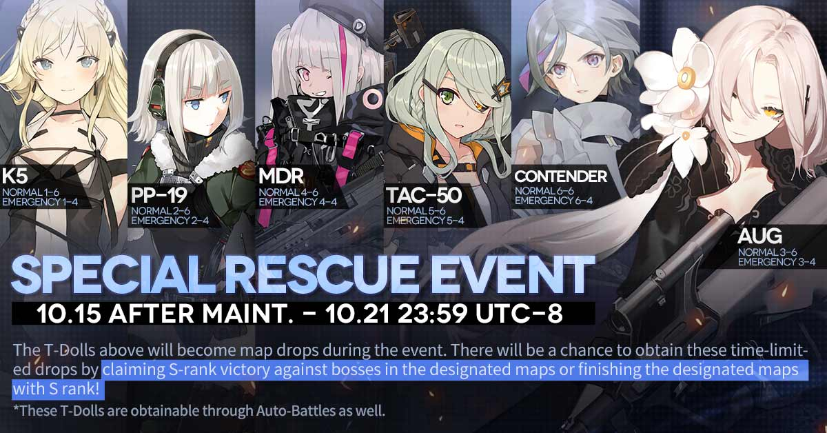Official Rescue Event Banner