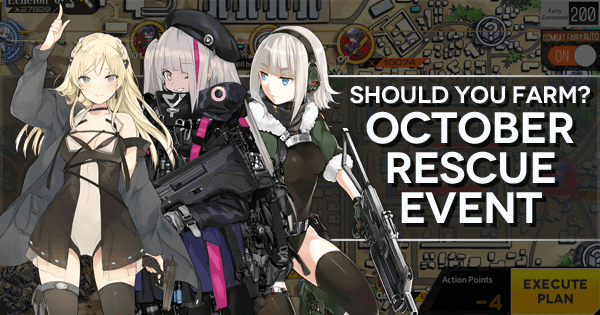 Girls' Frontline October Rescue Event Farming Guide Image