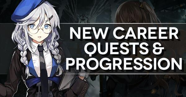 "Main title banner for ""New Career Quests and Progression"" walkthrough"