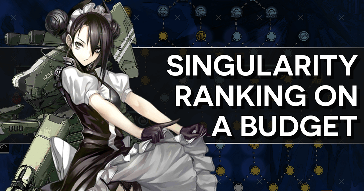 """Singularity Ranking on a Budget"" banner featuring Agent and a KCCO Hydra"