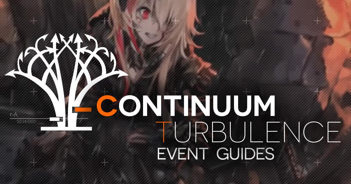 "Banner for ""Continuum Turbulence Event Clear Guides"" featuring M4 SOPMOD II from the CT Trailer"