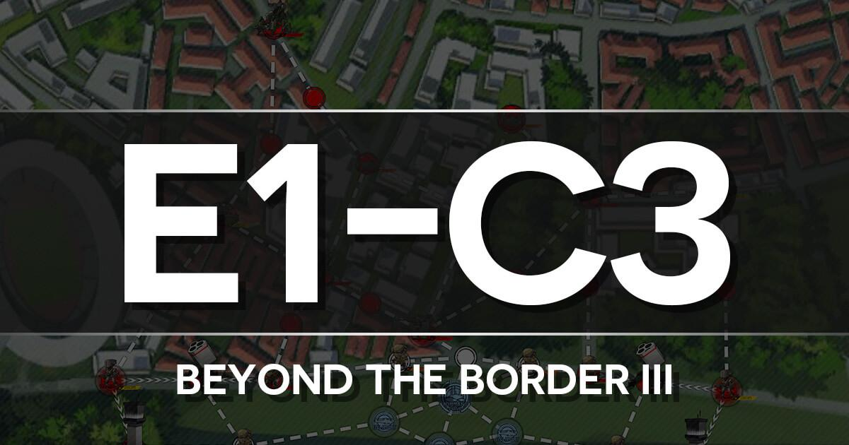 A guide to Isomer Chapter E1-C3: Beyond the Border III