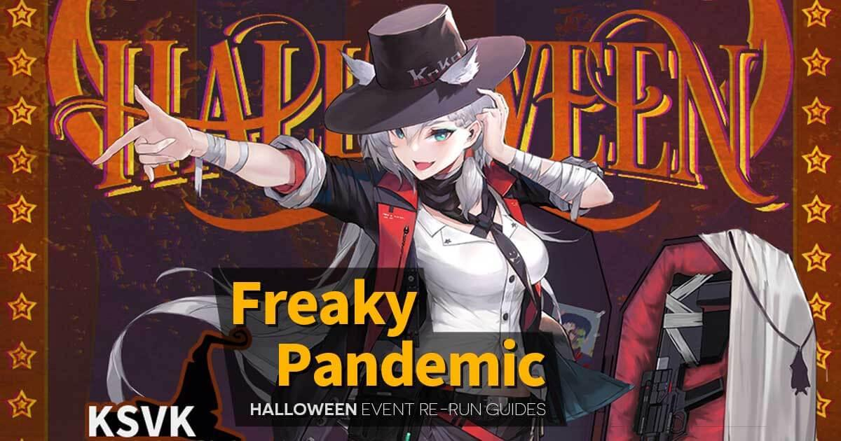 Banner Image for the Rerun of the 2019 Halloween Event 'Freaky Pandemic'