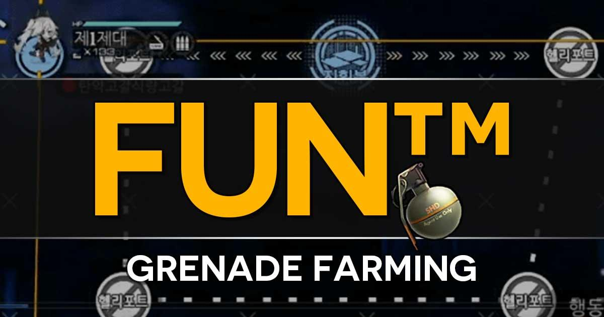 "A quick primer on farming Frag Grenades for the Girls Frontline x The Division Collab Event ""Bounty Feast"". This will need to be done a lot, so remember how to do it!"