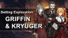 Setting Exploration: Griffin and Kryuger banner image, featuring Kryuger, Helian, and Kalina