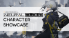 """Neural Cloud Character Showcase"" cover image featuring Croque"