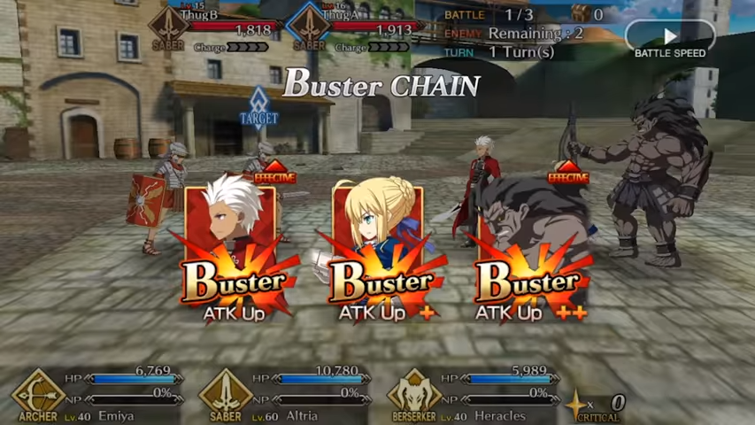 Buster Chain
