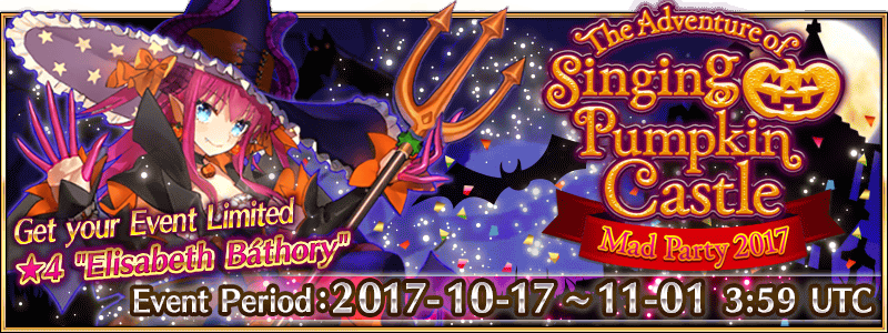 Fate/Grand Order Halloween Event 2017