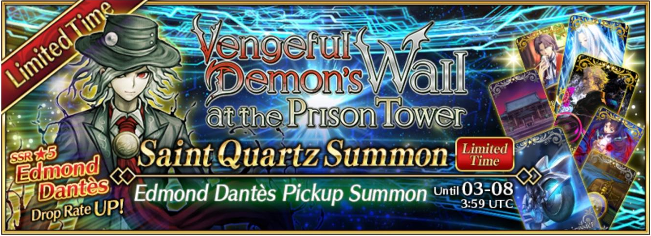 edmond dantes summon