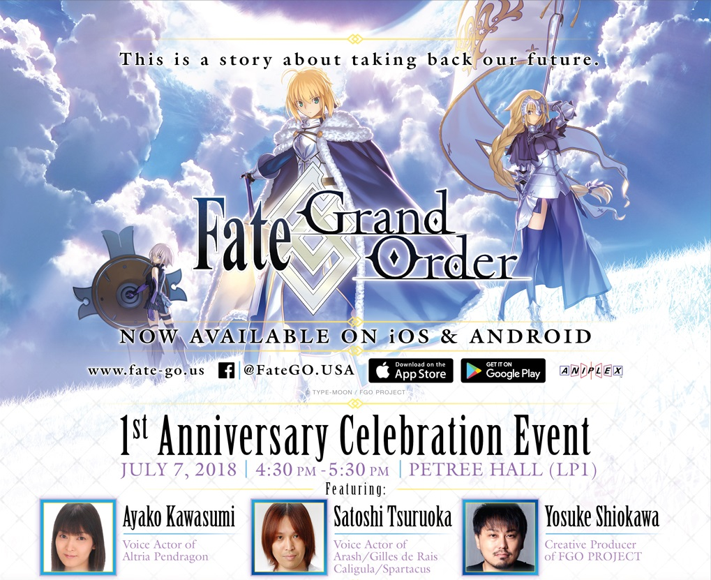 FGO NA Anniversary Panel Report | Fate Grand Order Wiki - GamePress
