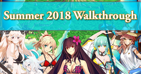Summer 2018 Walkthrough (Part 1: White Beach of Relaxation)