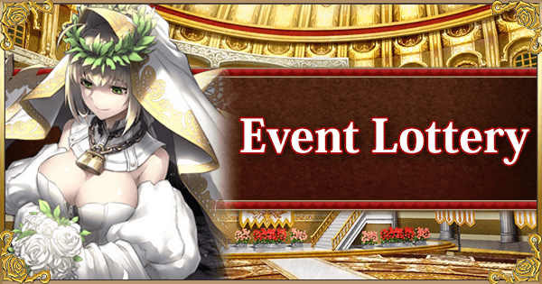 Return of Nero Fest 2018: Event Lottery