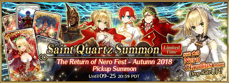Return of Nero Fest Summon