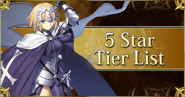 1 3 star tier list fate grand order wiki gamepress